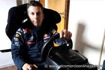 Christian Andlovec, piloto de Villa Martelli, participará este domingo en la carrera de TC Pickup Virtual de la ACTC - elcomercioonline.com.ar