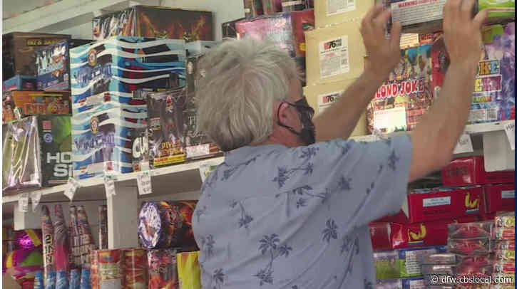 Dallas County Fireworks Shop Owner Says Canceled Shows Brought Booming Sales