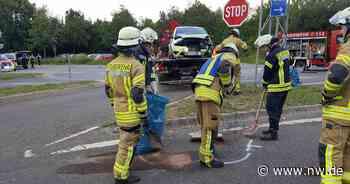 Autounfall mit zwei Verletzten bei A44-Auffahrt in Warburg - Neue Westfälische