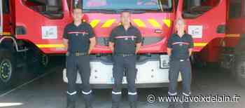 Lagnieu - Des pompiers professionnels viennent épauler les 80 volontaires de la caserne - La Voix de l'Ain