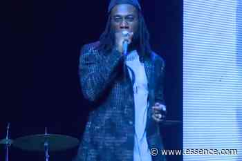 """Burna Boy Performs """"Collateral Damage"""" From African Giant"""