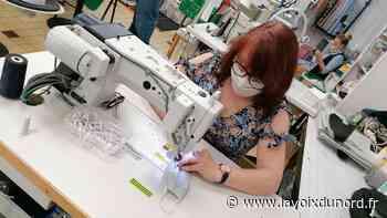 Vendin-le-Vieil : Vestali a fabriqué des milliers de masques pour le compte du Département - La Voix du Nord