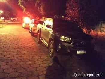 Caminhonetes roubadas em Terra Roxa são recuperadas em Guaíra logo após assalto - Aquiagora.net