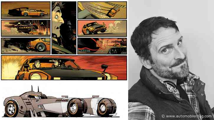 From the Batmobile to His Datsun 280Z, Sean Gordon Murphy Is the Go-To Guy for Cars in Comics