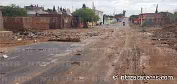 Tormentas también devastan Miguel Auza - NTR Zacatecas .com