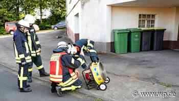 Wenden: Alarm für Feuerwehr nach Arbeiten an Öltank - Westfalenpost