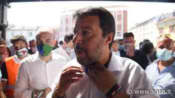 """Codogno, Salvini: """"Usiamo buonsenso ma gente vuole tornare a vita normale"""" - Italia - Agenzia ANSA"""