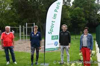 """Fitness: Warburg und Germete sind die ersten Orte im Kreis Höxter, die sich am Projekt beteiligen: Mit """"Sport im Park"""" fit in den Sommer - Westfalen-Blatt"""
