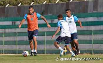 Goiás treina em Trindade; fotos - globoesporte.com