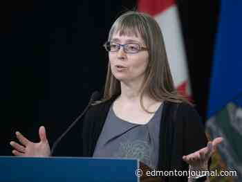 COVID-19: Alberta records 57 new cases as Hinshaw reflects on pandemic response