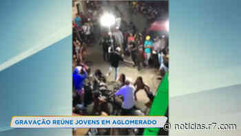 Gravação de clipe reúne jovens em aglomerado de Belo Horizonte - HORA 7