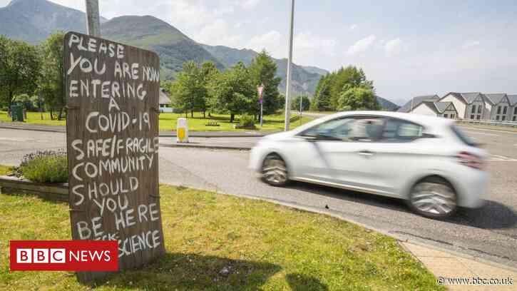 Coronavirus: Scotland's five-mile travel limit lifted - BBC News