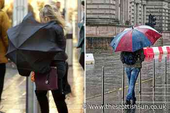 Scotland weather: Severe summer storm set to batter Scotland with 60mph winds and lashing rain - The Scottish Sun