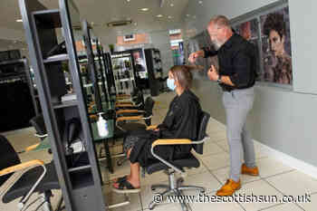 When can hairdressers and barbers reopen in Scotland? - The Scottish Sun