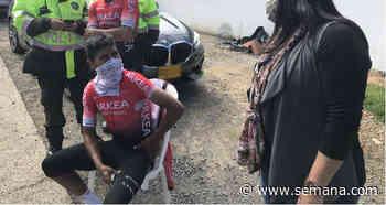 Nairo Quintana sufrió accidente mientras entrenaba en vía Tunja - Motavita - Semana.com