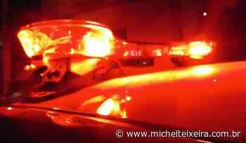 Veículo é atingido por disparo de arma de fogo em Campos Novos - Michel Teixeira