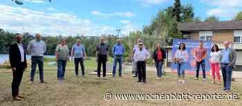Anschluss an die Wasserversorgung: Wasser marsch beim Erlensee und Waldsportplatz - Wochenblatt-Reporter