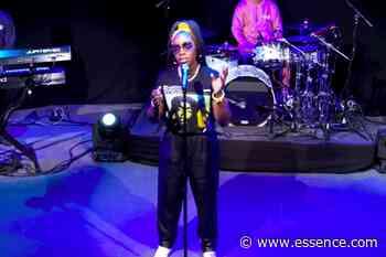 Estelle Performs Conqueror at the 2020 ESSENCE Festival of Culture