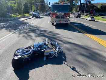Motorcycle Crash On US-50 Near Elks Point Road Closes Lanes