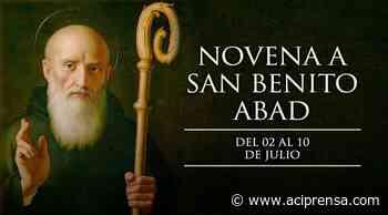 Hoy se inicia la novena a San Benito Abad, patrono de Europa - ACI Prensa