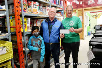 No Indoor Soccer Games, But Food Bank Scores - Whitehorse Star