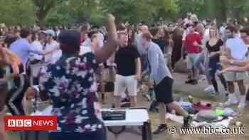 Coronavirus: London park bans alcohol after 'urination and defecation'