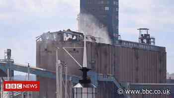 Tilbury Port explosion badly damages grain terminal silos