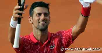 Novak Djokovic mit nächster großer Spende für Corona-Opfer - tennisnet.com