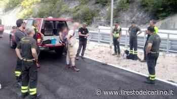Fabriano, padre e figlia si perdono in montagna. Salvati dai pompieri - il Resto del Carlino