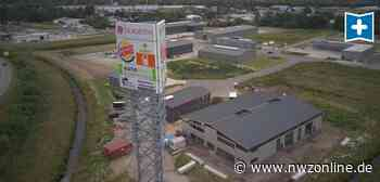 Werbe-Ärger Schortens: Nach dem Turmbau hängt der Haussegen schief - Nordwest-Zeitung