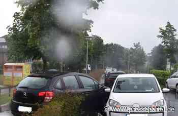 POL-WHV: Verkehrsunfall nach einem Vorfahrtverstoß in Schortens - Nach dem Zusammenstoß verlor die... - Presseportal.de