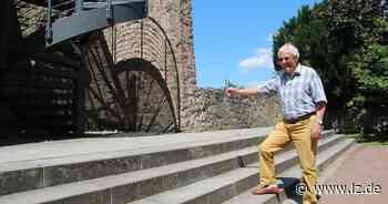 Nicht barrierefrei: Im Blomberger Schweigegarten wird nachgebessert | Lokale Nachrichten aus Blomberg - Lippische Landes-Zeitung