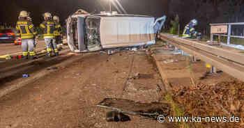Zwei Unfälle auf A5 bei Bruchsal am Montag - ka-news.de