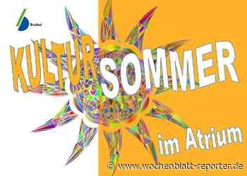 Kultursommer im Atrium: Wochenendprogramm vom 10. bis 12. Juli jetzt online - Wochenblatt-Reporter
