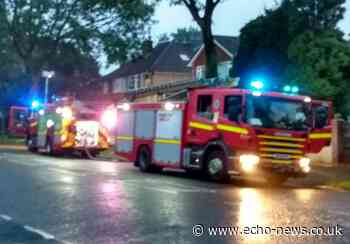Families evacuate after house fire in Langdon Hills, Basildon | Echo - Echo