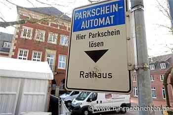 Stadt Stadtlohn baut Parkautomaten an zwei Orten ab - Ruhr Nachrichten