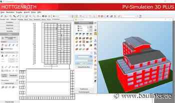 PV-Simulation 3D PLUS: PV-Anlagen auslegen, optimieren und dokumentieren