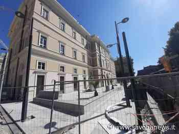 Savona, pronta a riaprire la piazza dell'ex ospedale San Paolo lato Corso Mazzini - SavonaNews.it