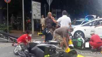 Scontro tra moto e scooter a Savona, feriti al pronto soccorso - IVG.it