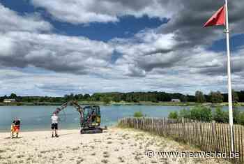 Tien compartimenten op strand van De Plas (Houthalen-Helchteren) - Het Nieuwsblad