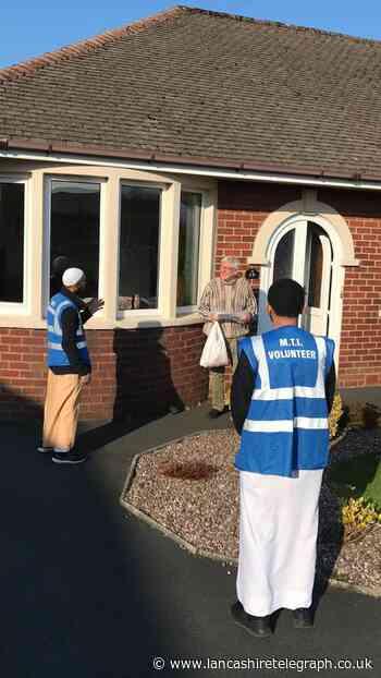 Mosque volunteers' huge effort to deliver food to vulnerable in Blackburn and Darwen
