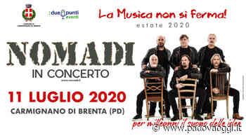 Nomadi in concerto a Carmignano di Brenta - PadovaOggi