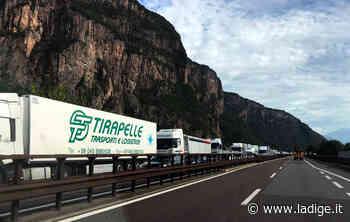A22 bloccata verso Trento Incidente a sud di Bolzano - l'Adige - Quotidiano indipendente del Trentino Alto Adige