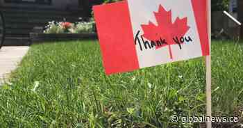 Beaconsfield residents celebrate Canada Day with a food drive - Globalnews.ca