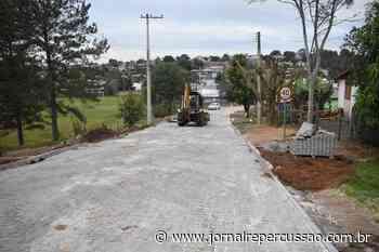 Prefeitura de Nova Hartz entrega pavimentação da rua Ana Néri - Jornal Repercussão