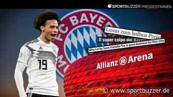 """Pressestimmen zum Bayern-Transfer von Leroy Sané: """"Schlecht für die Bundesliga, gut für Deutschland"""" - Sportbuzzer"""