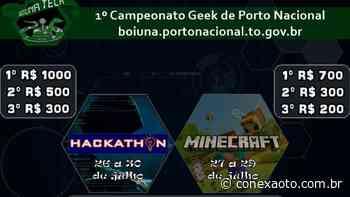Porto Nacional lança a primeira edição do Boiuna Tech, campeonato de jogos online - Conexão Tocantins