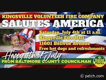 Salute America at the Kingsville Volunteer Fire Company - Patch.com