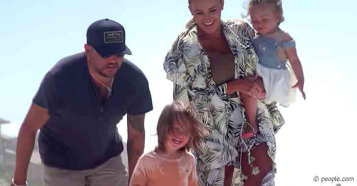 Jason Aldean Premieres Emotional New Music Video Starring Wife Brittany and Their Kids - PEOPLE