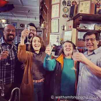 Pub toasts crowdfunder success - Waltham Forest Echo